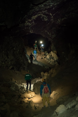 Exploring a lava tube