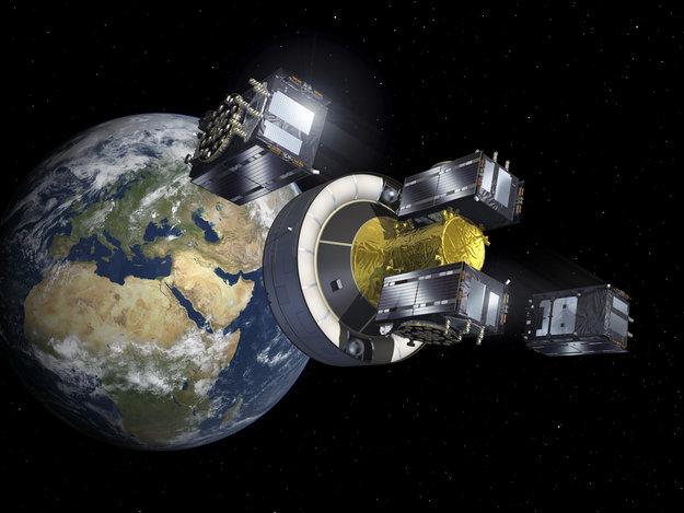 Lanzamiento de Galileo
