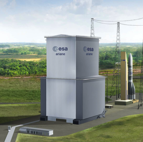 Mobile gantry for Ariane 6