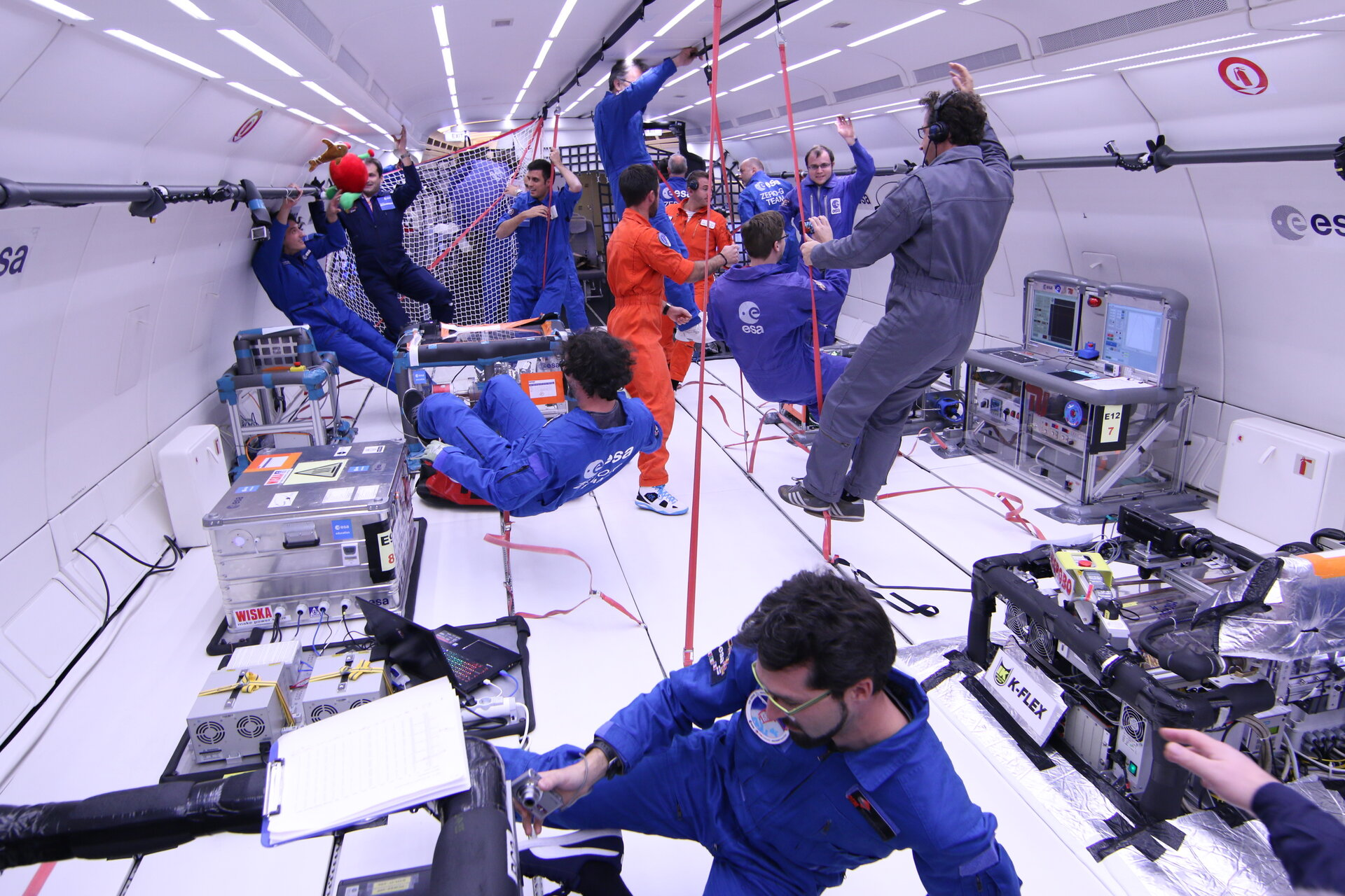 Esa Student Experiments On Parabolic Flights Performed Successfully