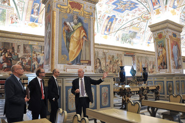 Vatican Library tour