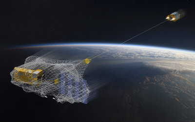 e.Deorbit will be the first-ever active debris removal mission