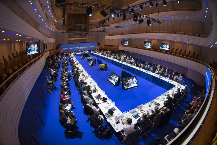 ESA Council meeting at Ministerial Level, Lucerne, on 1 December 2016