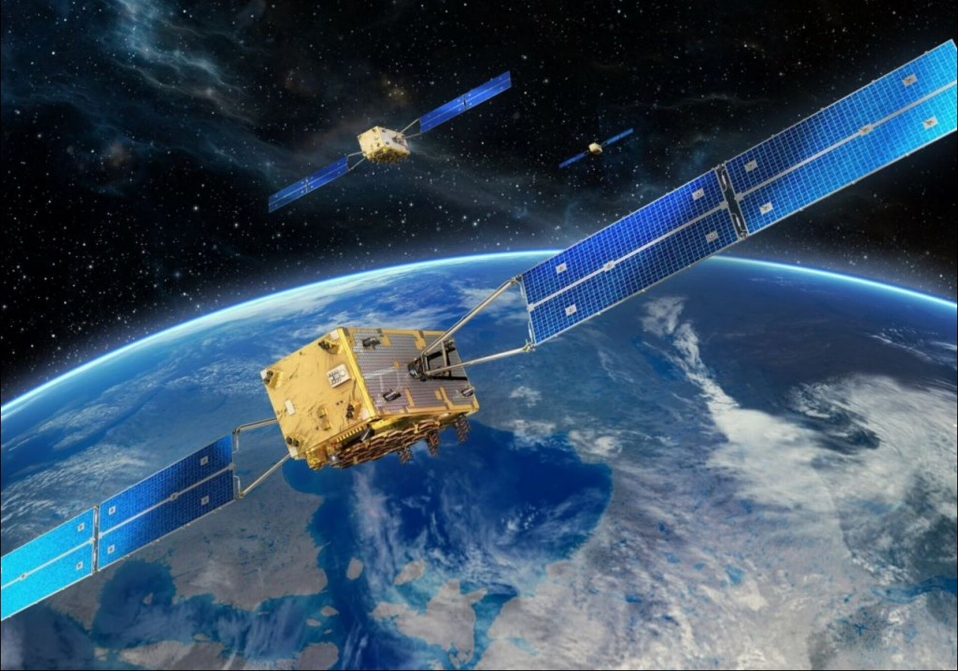 Galileo satellites