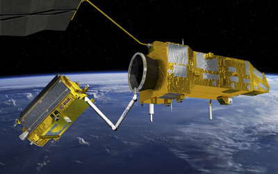 e.Deorbit's robotic arm