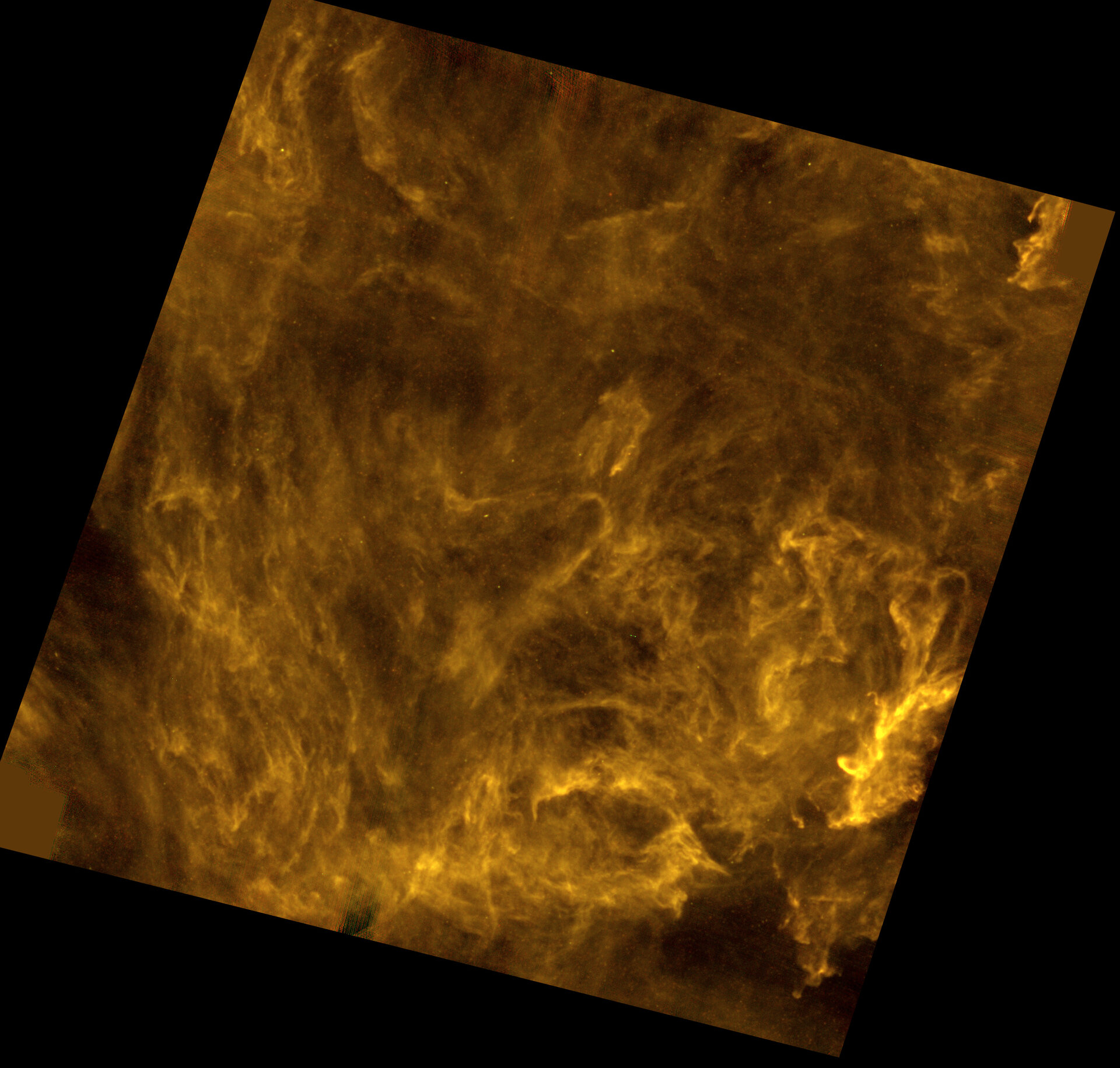 Interstellar filaments in the Polaris Flare