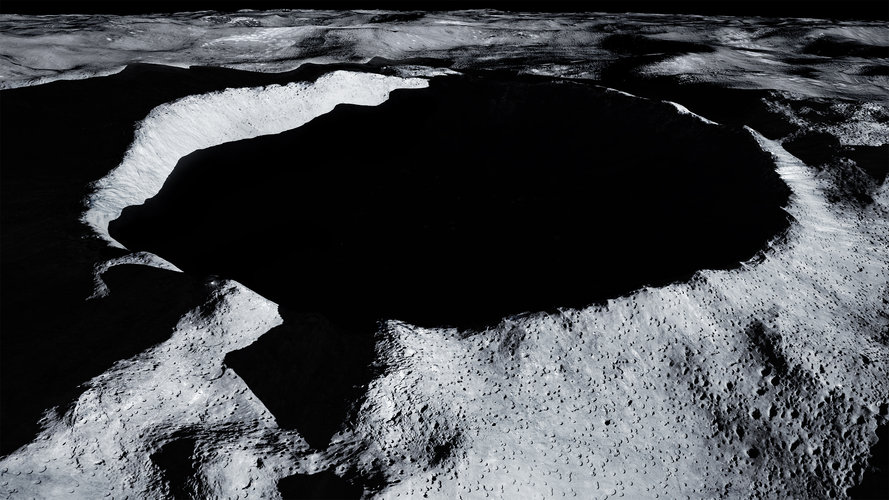 Shackleton Crater