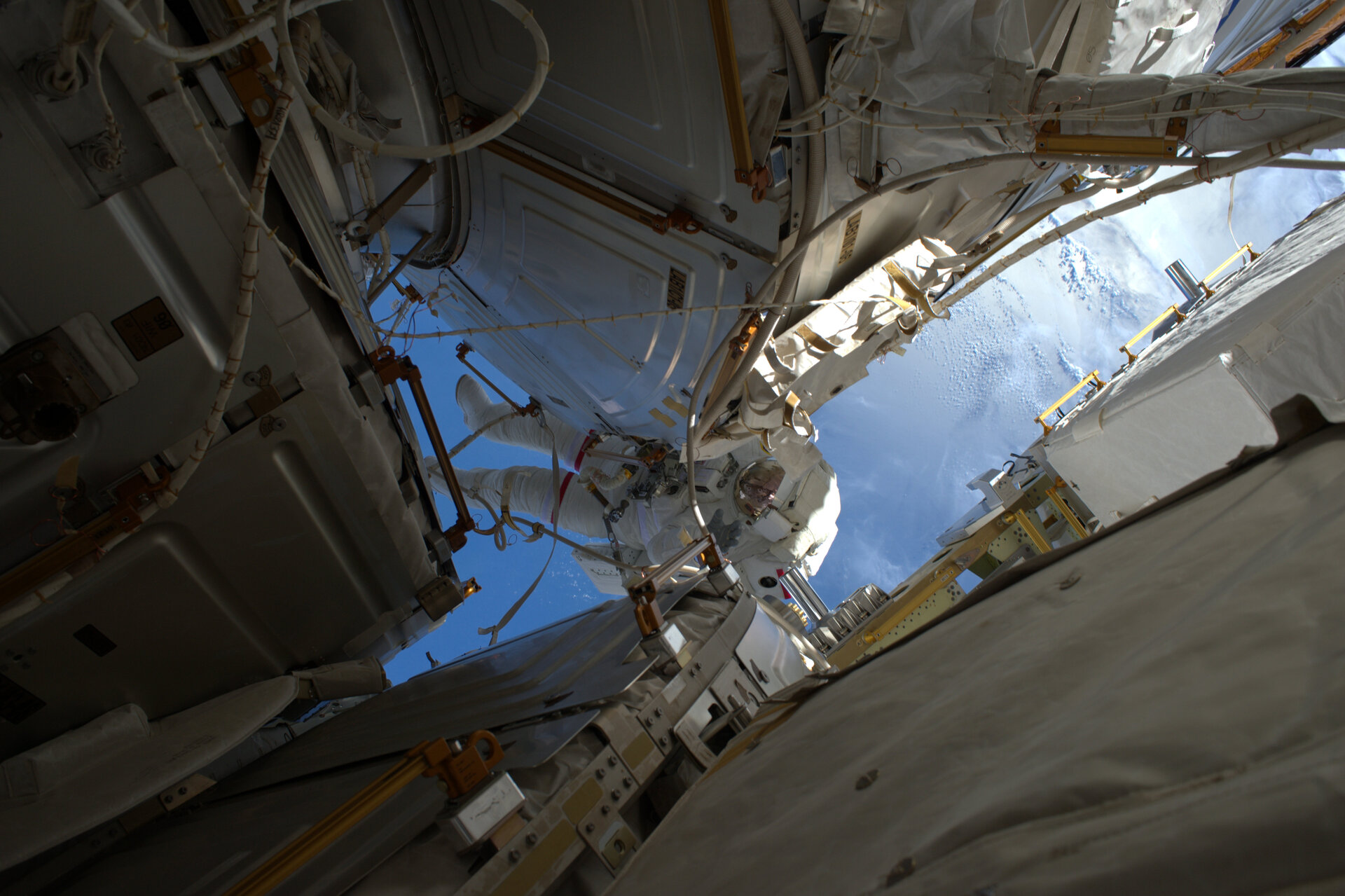 Shane Kimbrough spacewalk