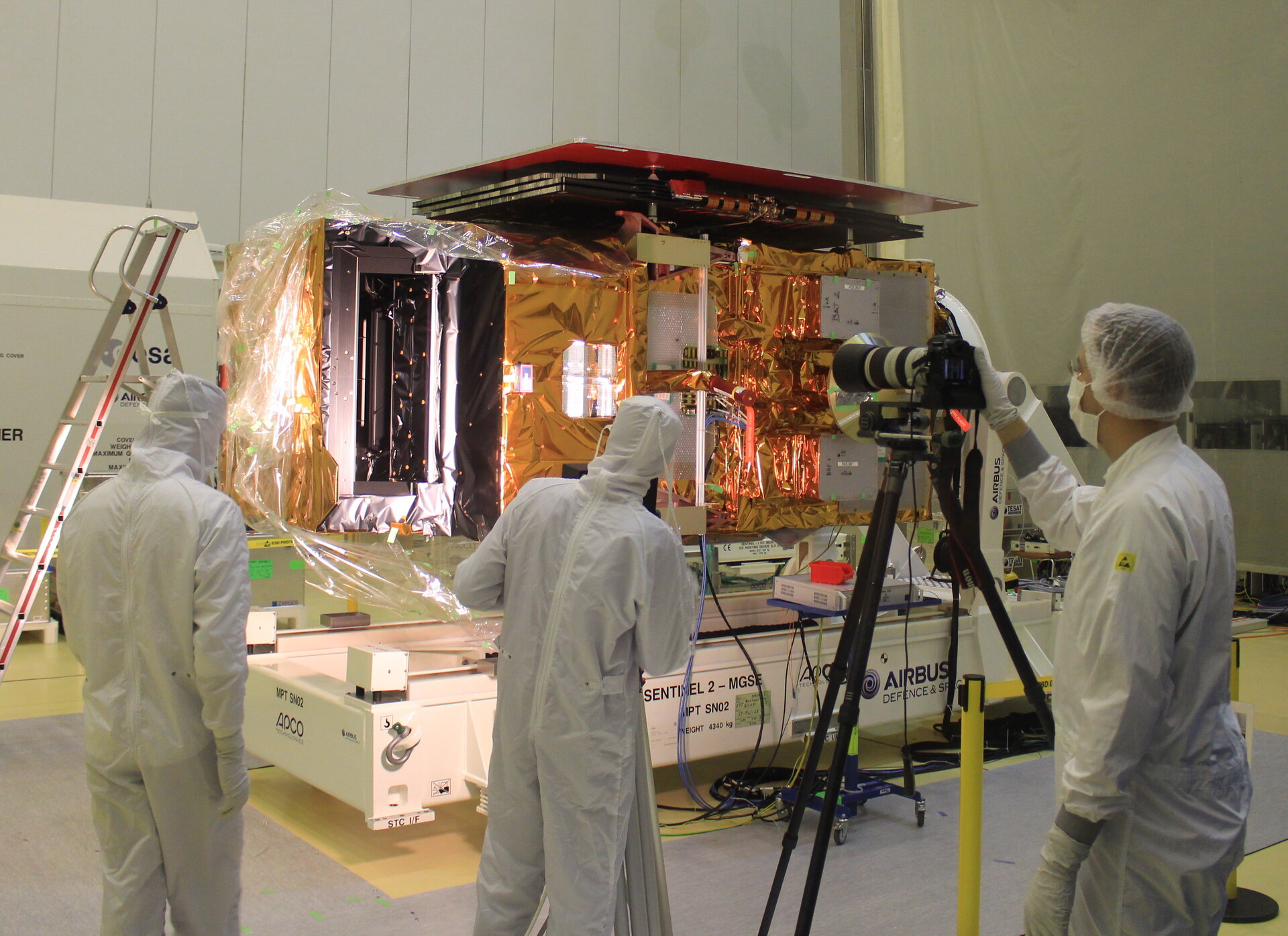 Testing Sentinel-2B for light
