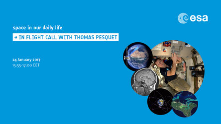 Thomas Pesquet's inflight call from the ISS