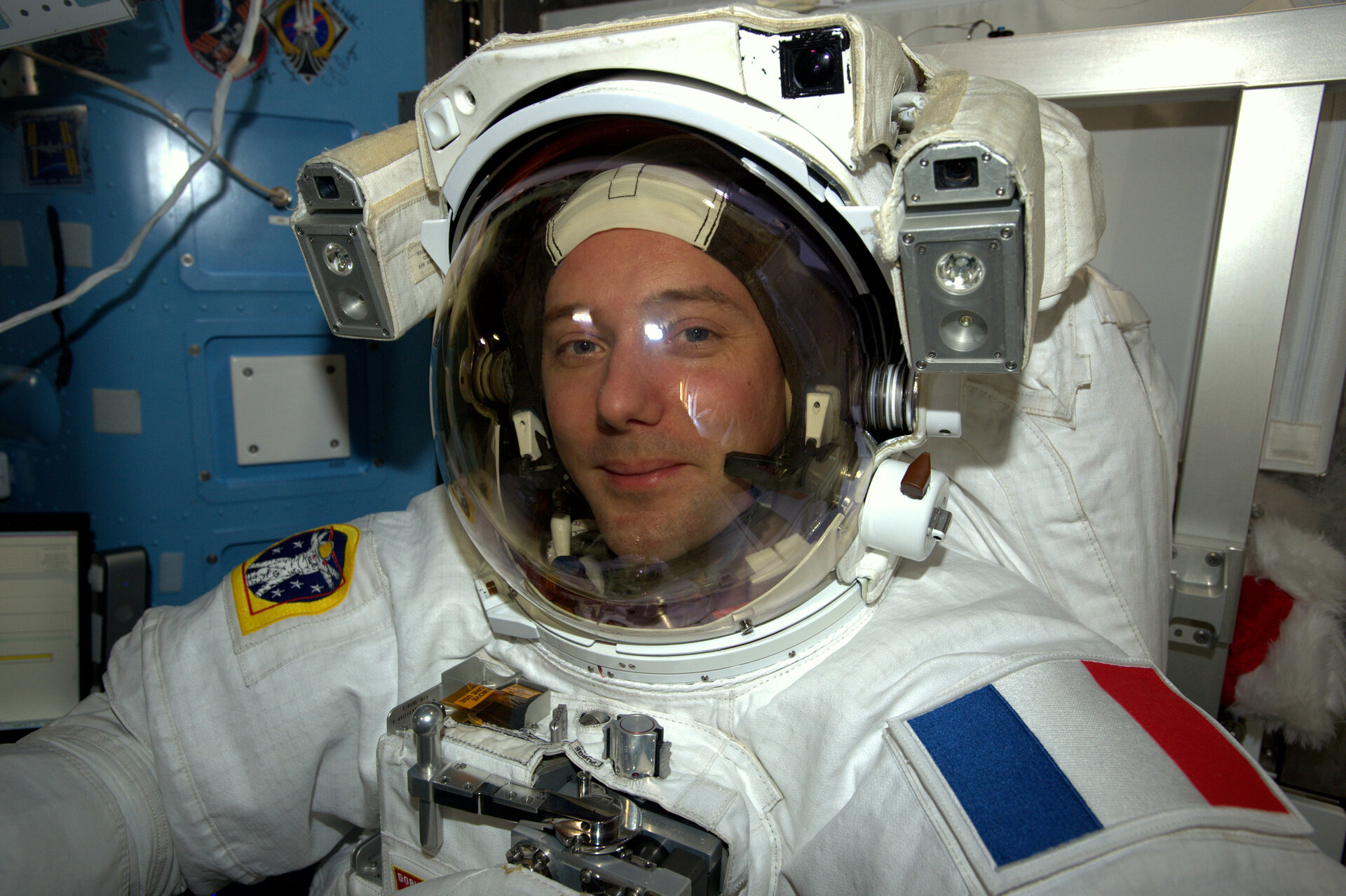 Thomas Pesquet spacewalk test