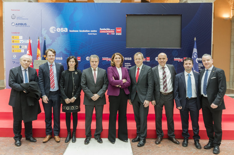 ESA BIC Madrid Region official opening