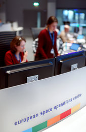 Simulation training at ESOC on 1 Feb 2017 in preparation for Sentinel-2B liftoff, set for 7 March