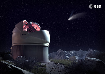 Future Flyeye survey telescope