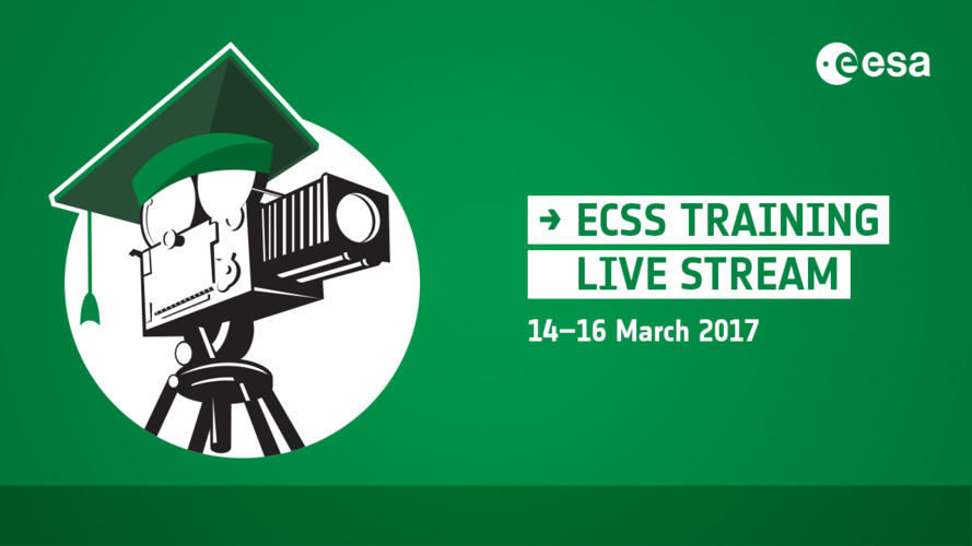 ECSS training live stream