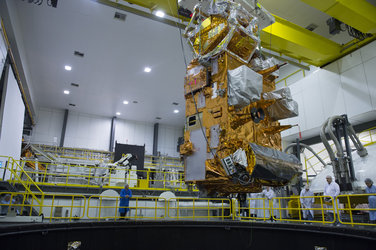MetOp-C lowered into LSS
