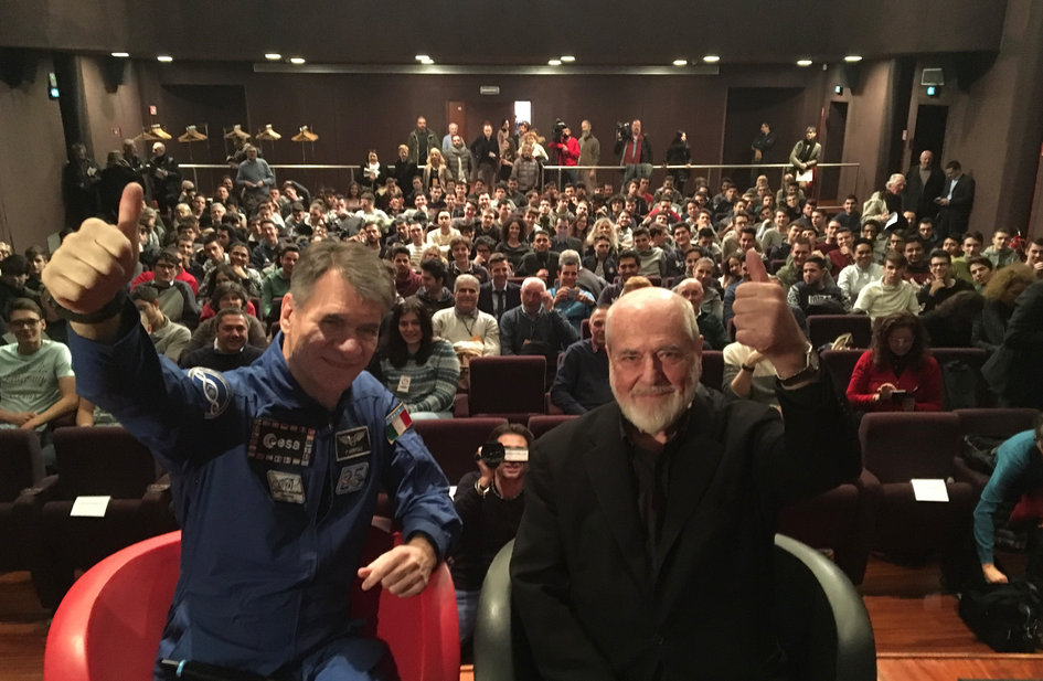 Paolo Nespoli and Michelangelo Pistoletto