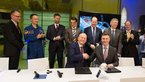[8/9] Signature of the industrial contract for Orion spacecraft's first astronaut mission