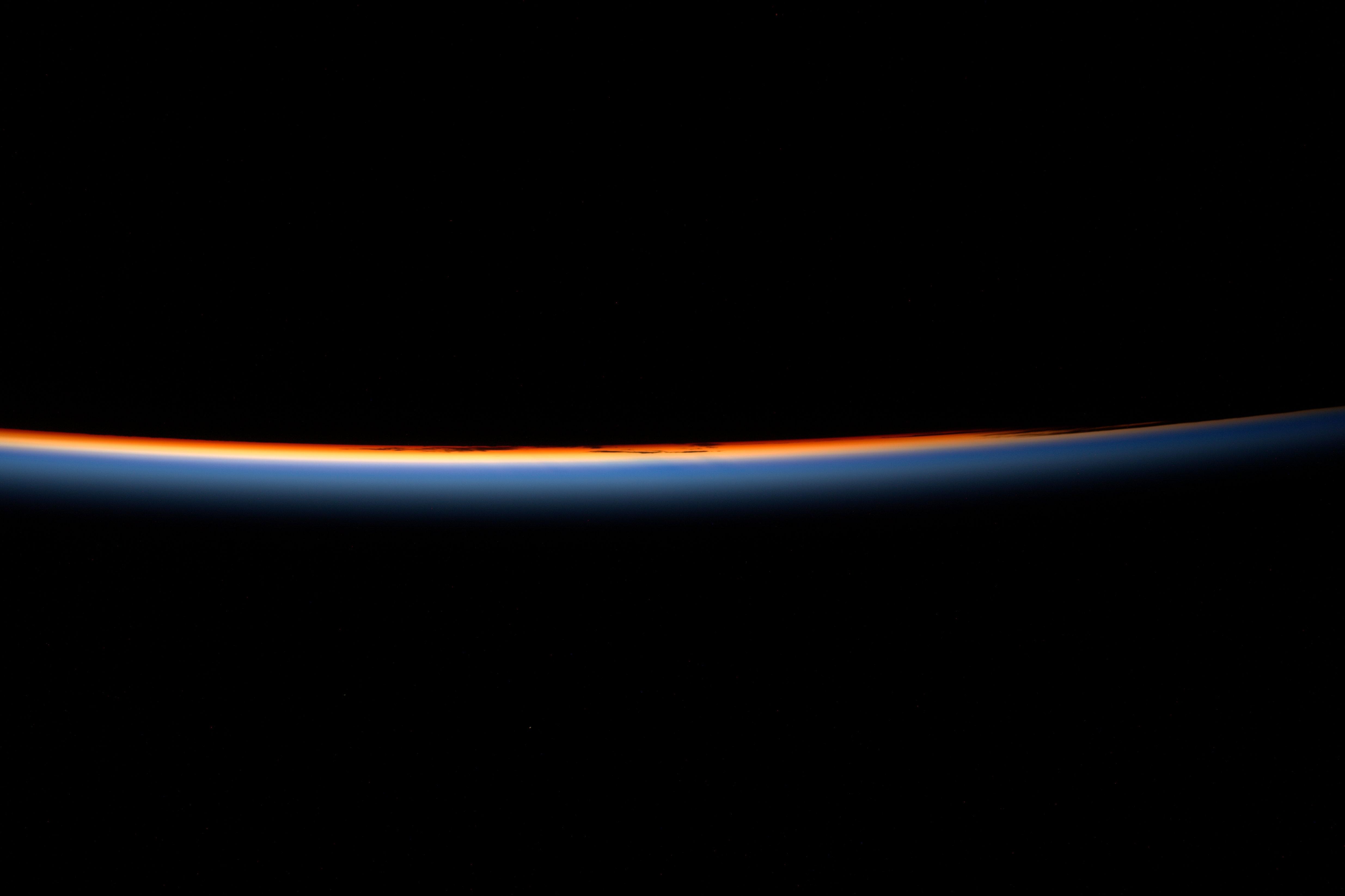 Space in Images - 2017 - 02 - Space sunrise