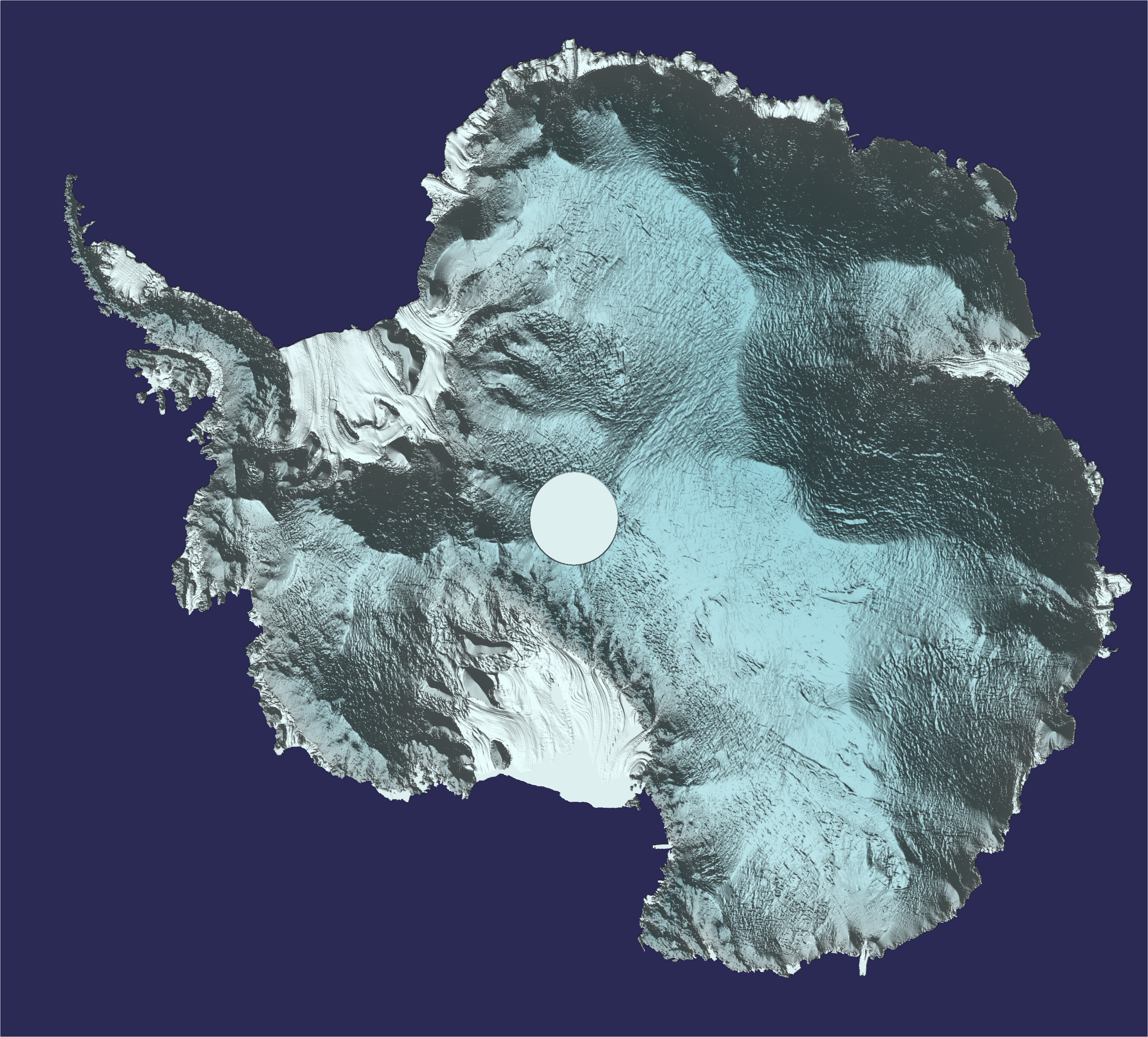 Space in images 2017 03 antarctica in 3d for Space in 3d