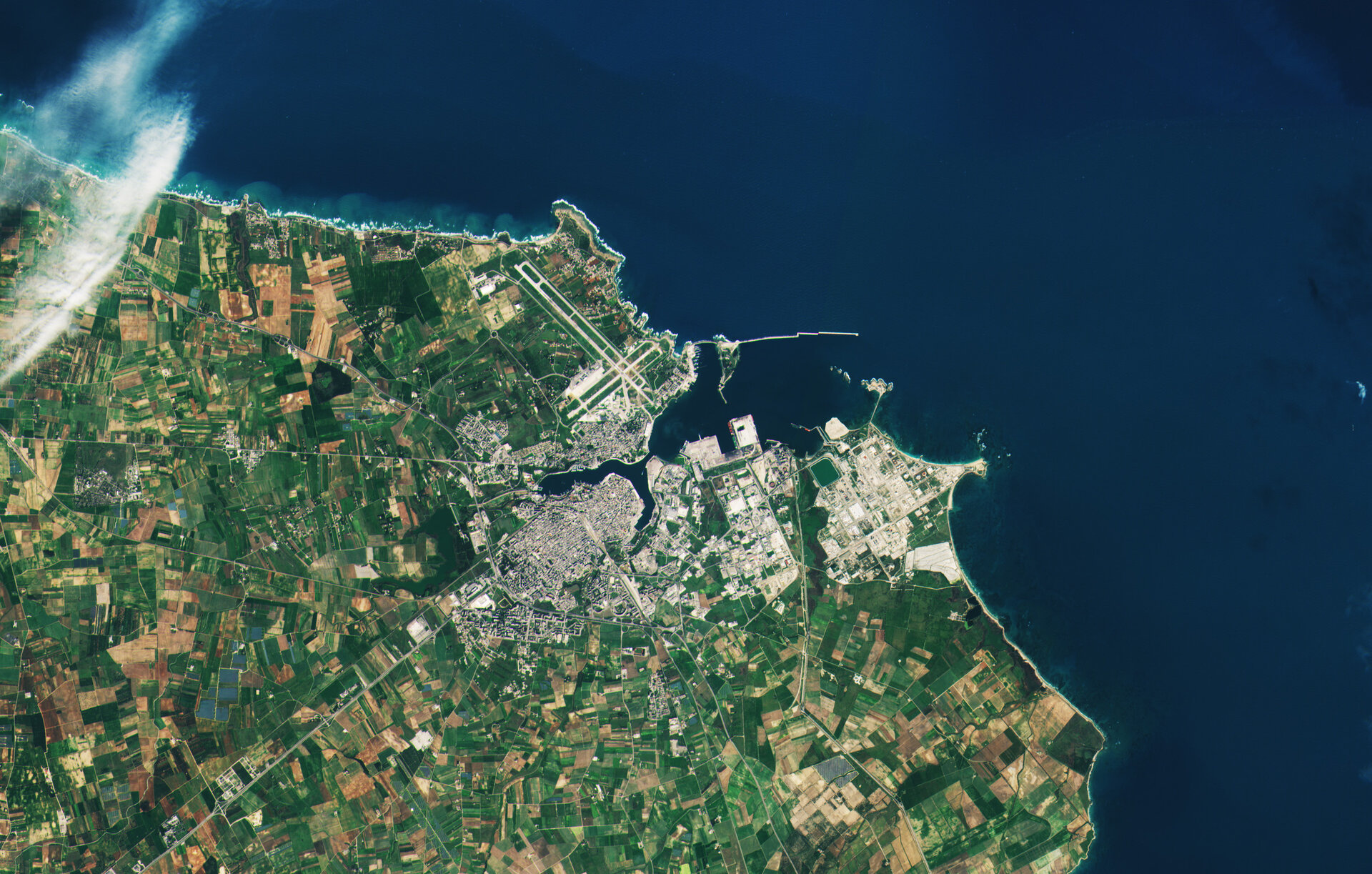 First image from Sentinel-2B