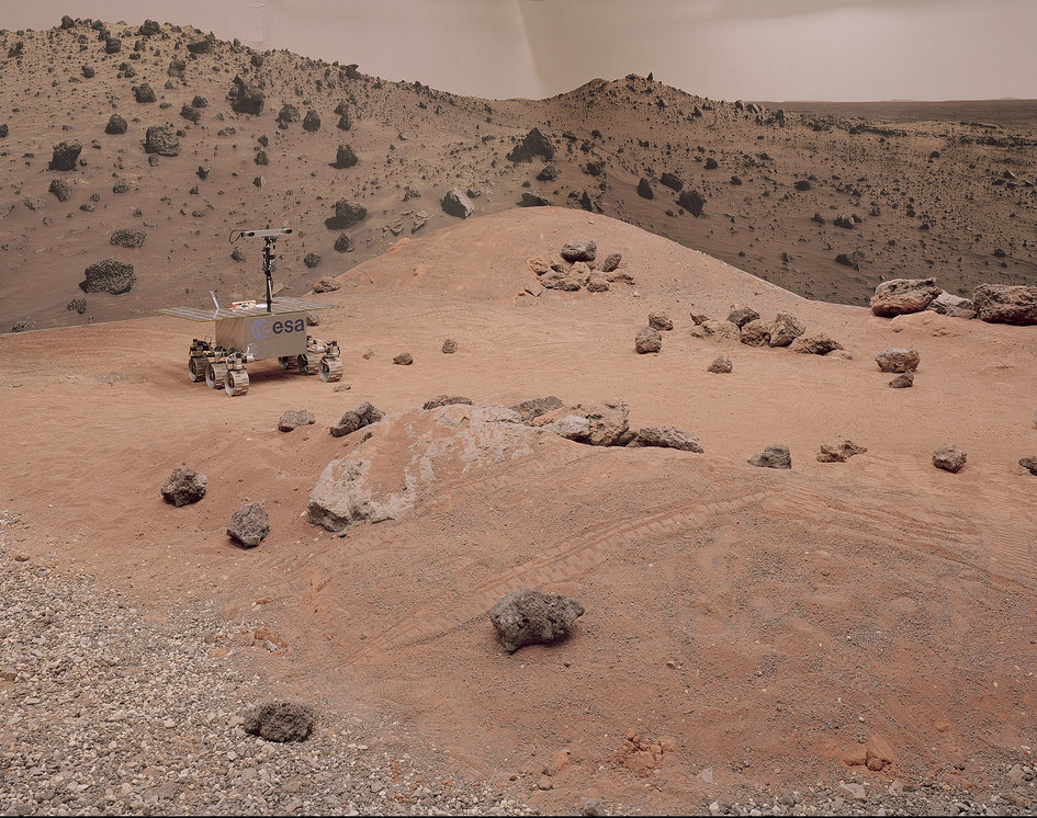 ESA's Mars Yard photographed by Gregor Sailer