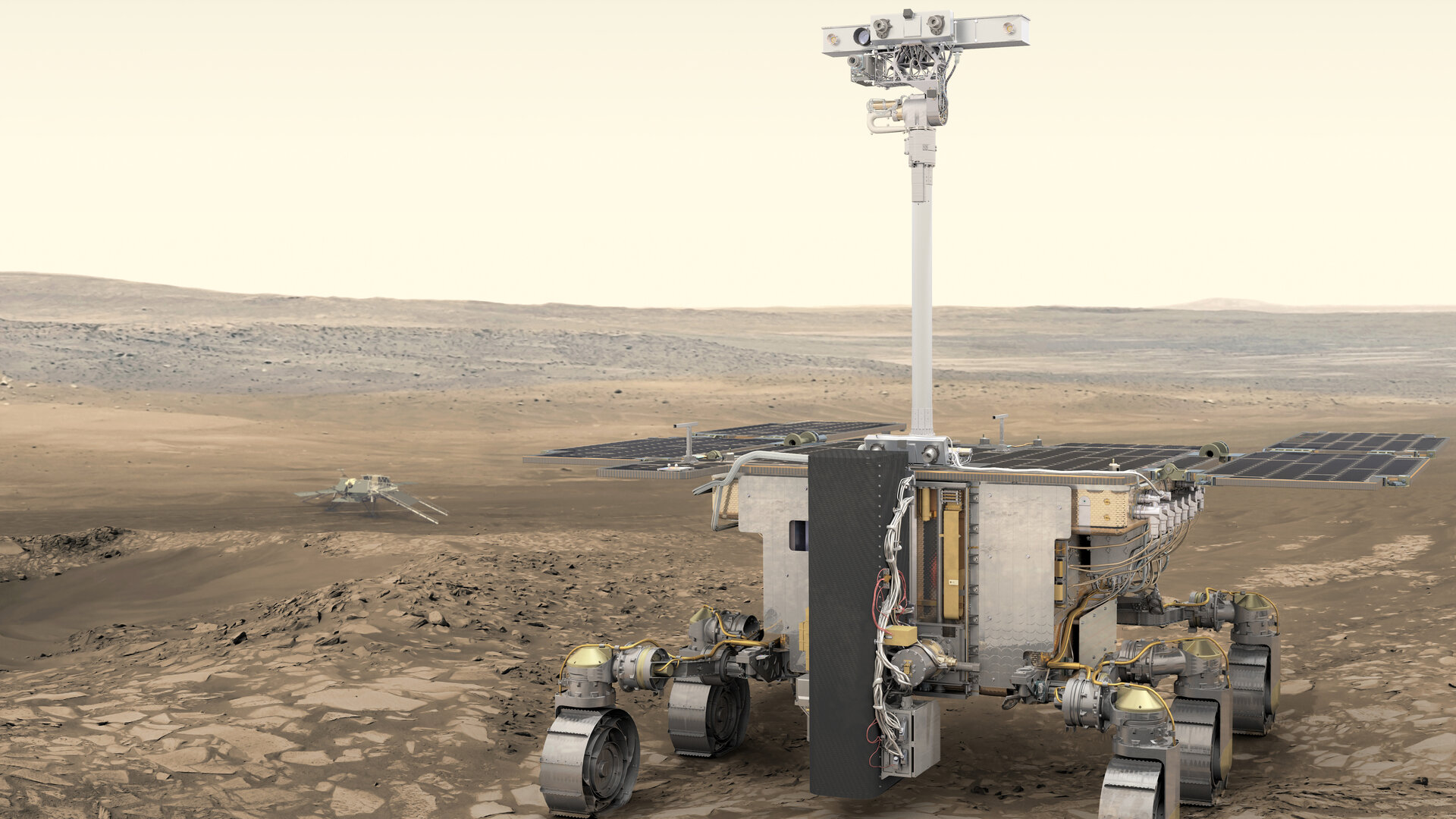 The camera atop the mast of the Exomars 2020 rover was developed and built at UCL