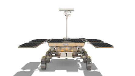 ExoMars rover: rear view