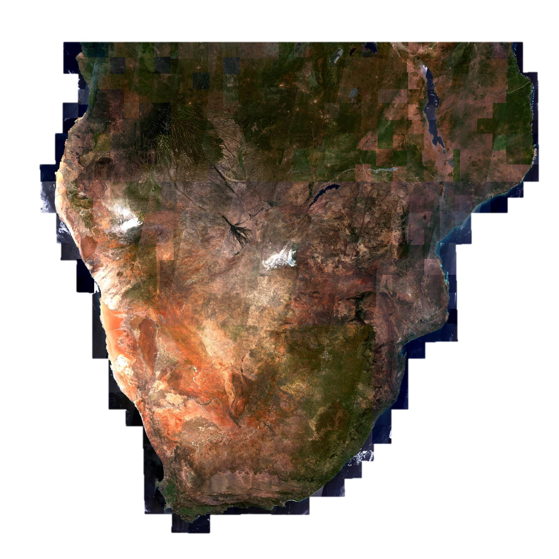 Mapping African land cover