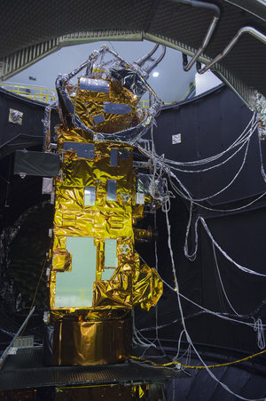 MetOp with cooling umbilicals