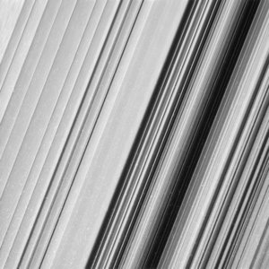 Saturn's B-ring close-up