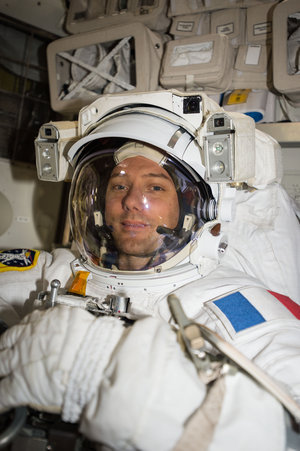 Thomas Pesquet preparing for second spacewalk