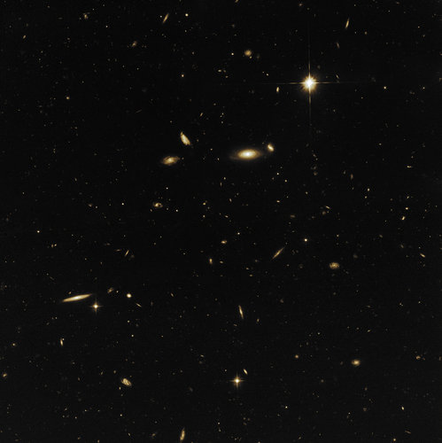 A sea of galaxies