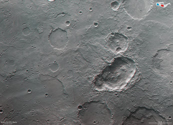 Anaglyph view of Terra Sirenum