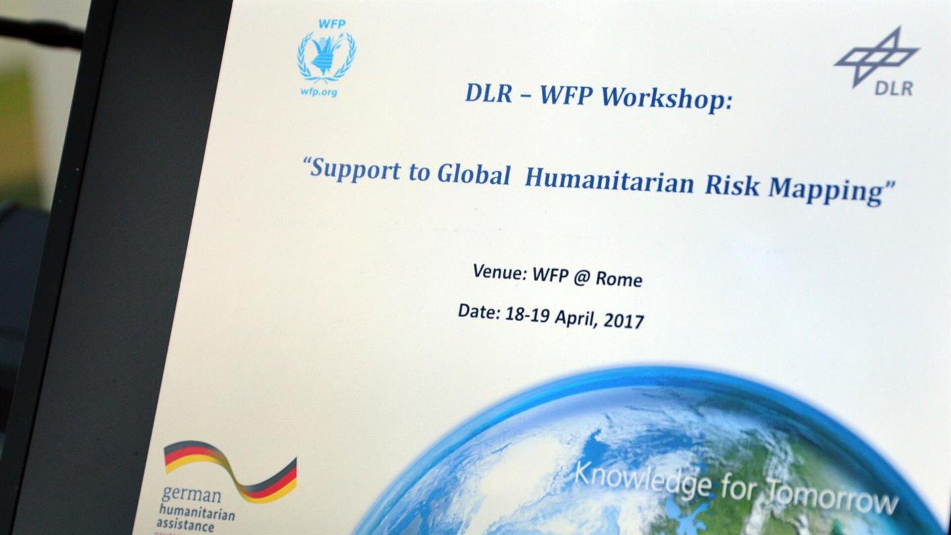 Esa Hightech Fur Helfer Dlr Unterstutzt Das Un World Food Programme Wfp Durch Satellitengestutzte Risikokartierungen