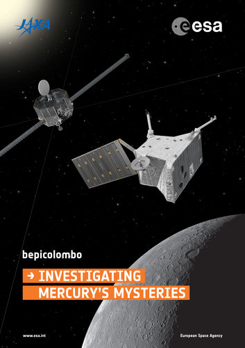 BepiColombo mission poster