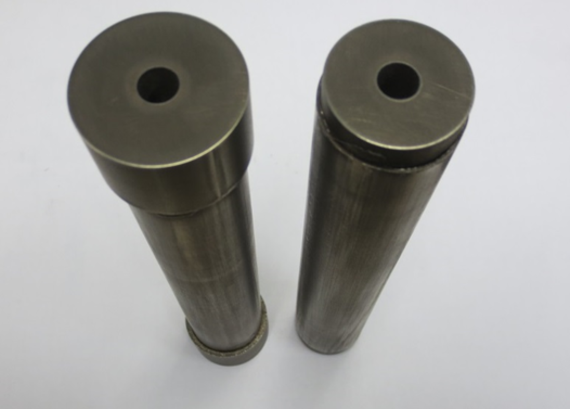 Demonstrators showing two brazing configurations (courtesy of Tecnalia)