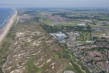 ESTEC beside North Sea dunes