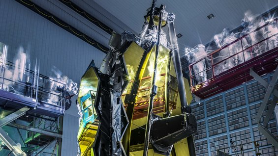 JWST lights out inspection