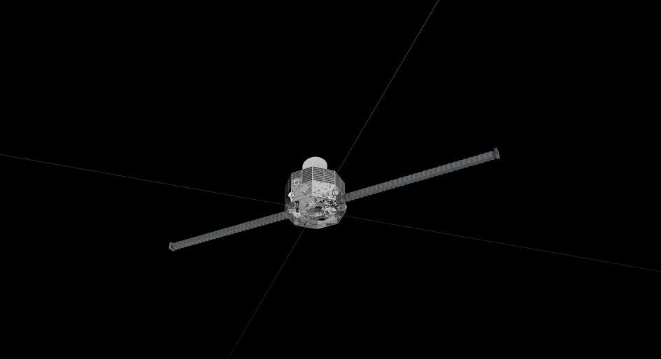 Mercury Magnetospheric Orbiter – bottom view