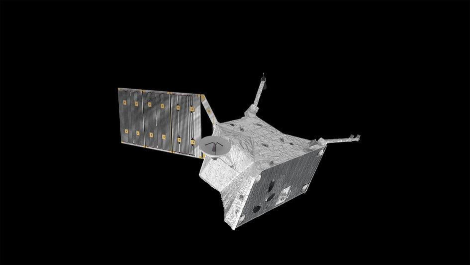 Mercury Planetary Orbiter – top view