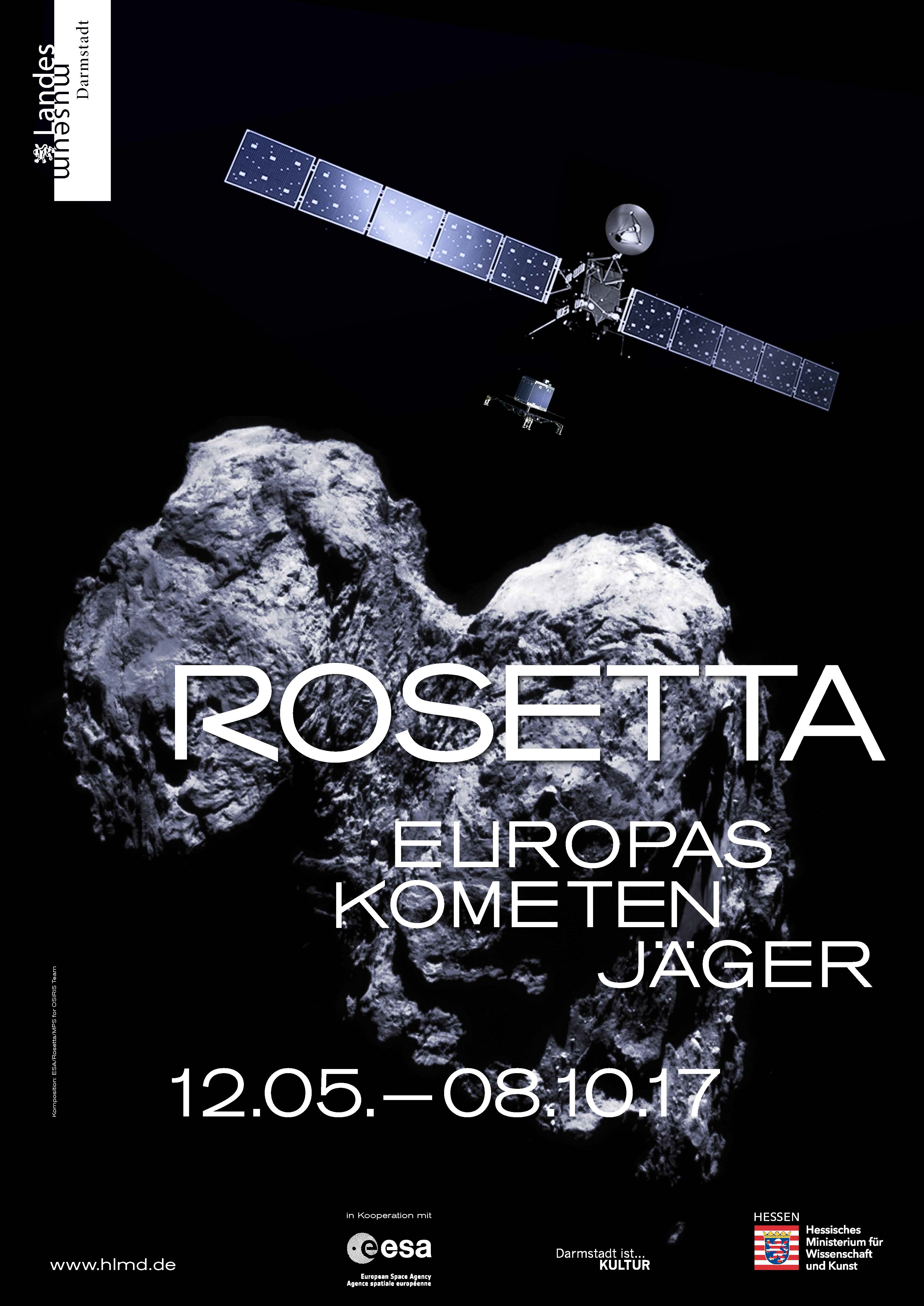 Rosetta And Philaee To Life In Darmstadt