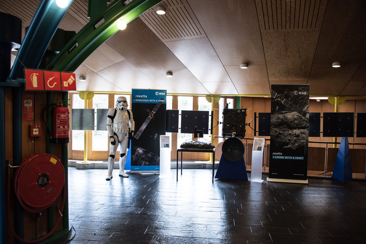Stormtrooper and Rosetta model