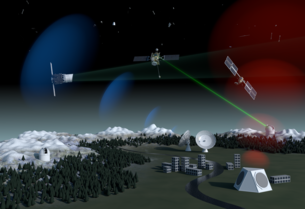 Concept for ESA's future space debris surveillance system employing ground-based optical, radar and laser technology as well as in-orbit survey instruments.