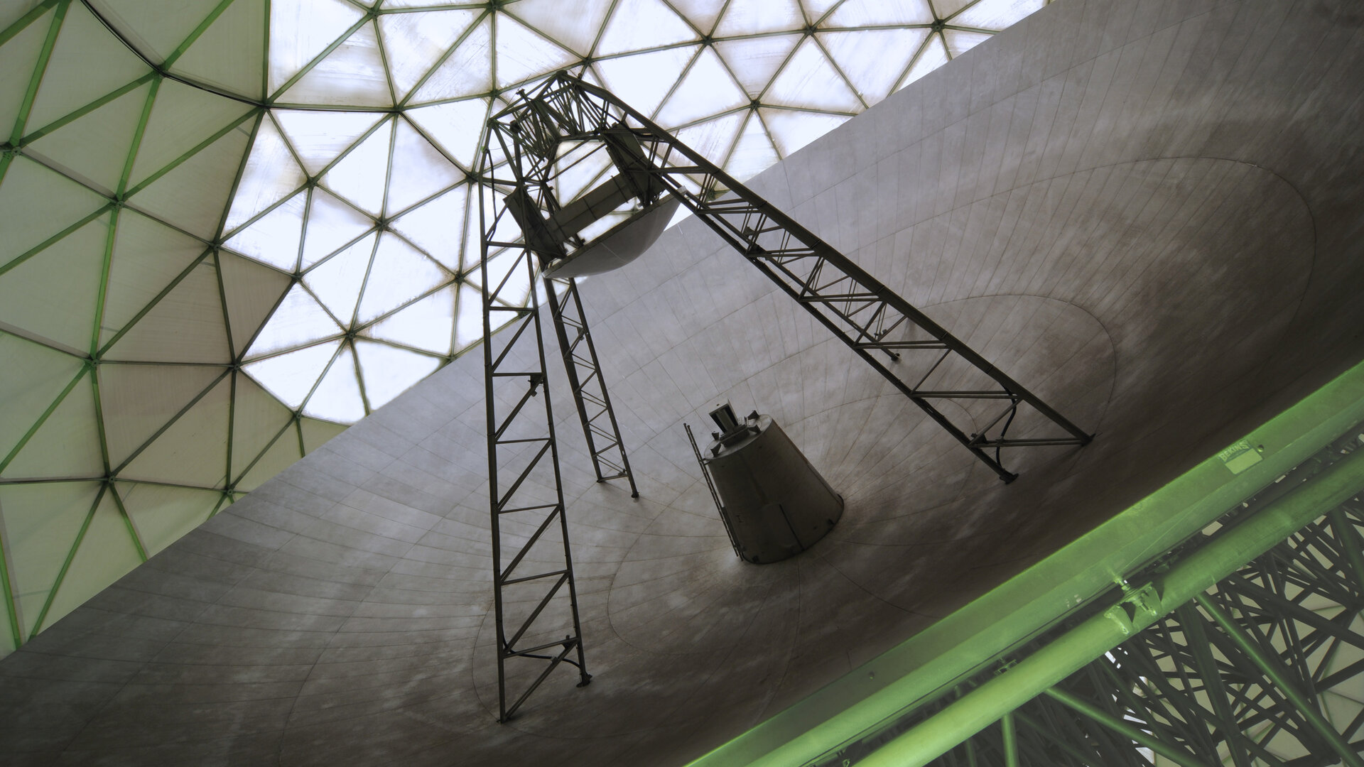 TIRA radar: under the radome