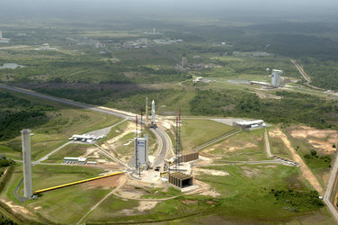 Ariane 5 launch zone