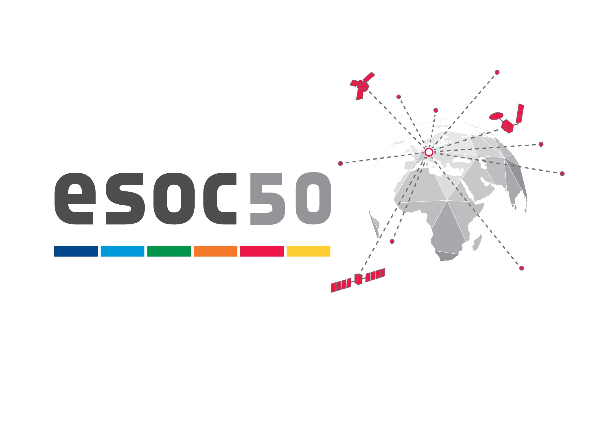 Space in Images - 2017 - 05 - ESOC50 logo horizontal