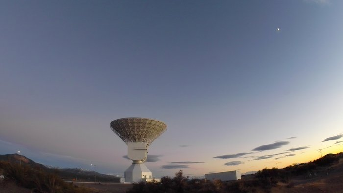 ESA's sensitive tracking antennas at New Norcia, Western Australia, and Malargüe, Argentina, seen here, are being called in to help gather crucial science data during Cassini's 'Grand Finale'
