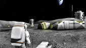 what s your idea to 3d print on the moon to make it feel like home