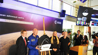 Presentation of Alexander Gerst's 'Horizons' mission at ESA's European Astronaut Centre, 29 May 2017